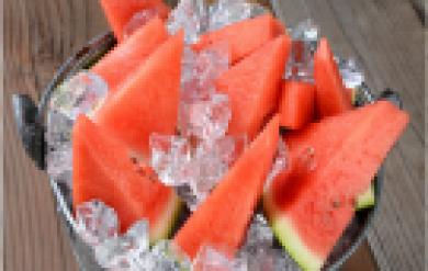 Wassermelone richtig essen