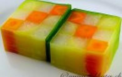 Gemüse Rezept - Gemüse Mosaik