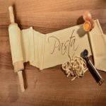 Teig für Pasta mit Nudeln und Eier © deepvalley - Fotolia.com