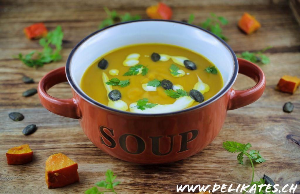 Einfache Kürbissuppe Rezept