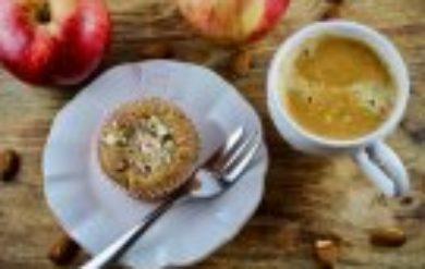 Low-Carb Rezept einfach - Apfelmuffin