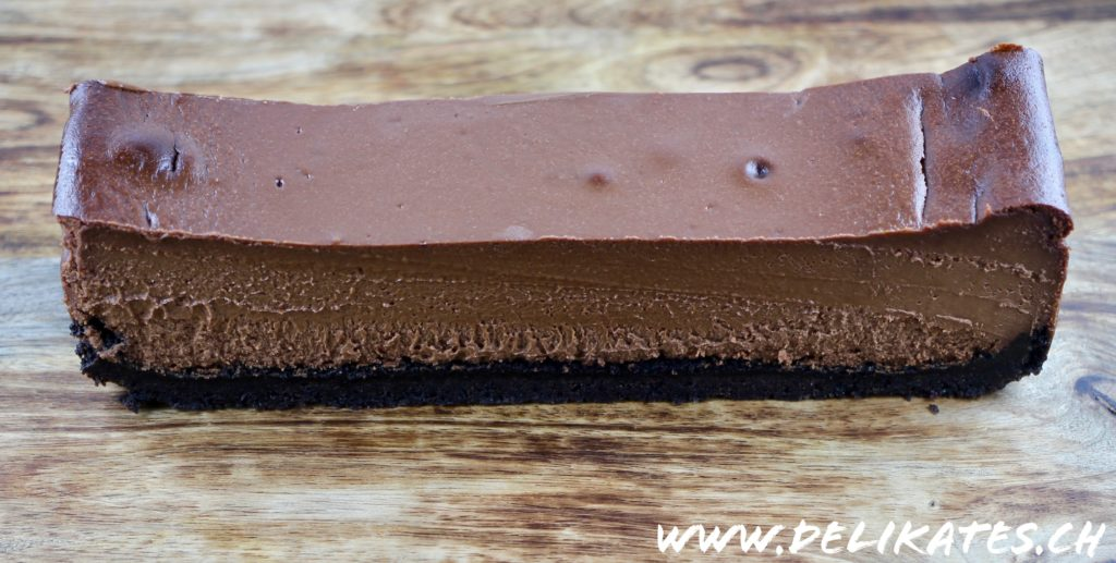 Easy Chocolate Cheesecak