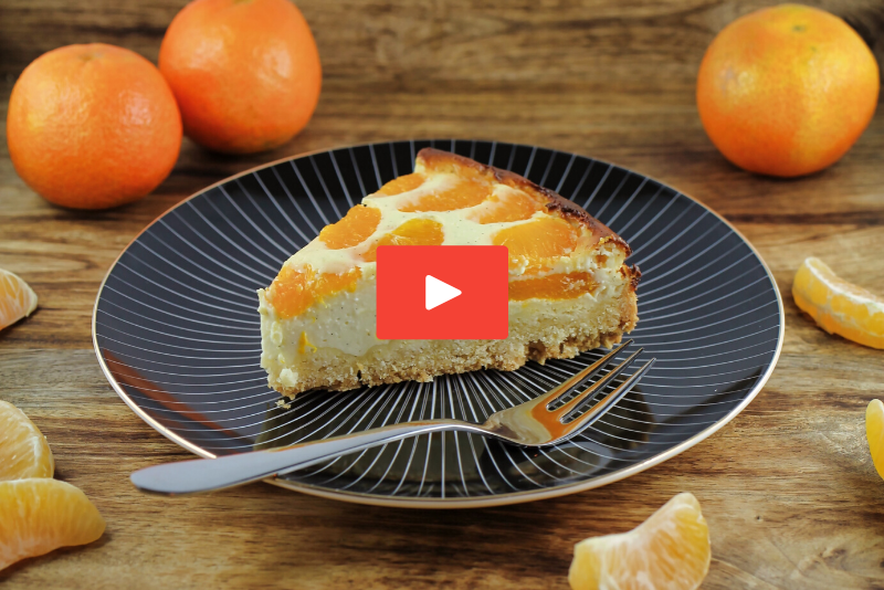 Mandarinen-Cheesecake-Rezept-Video